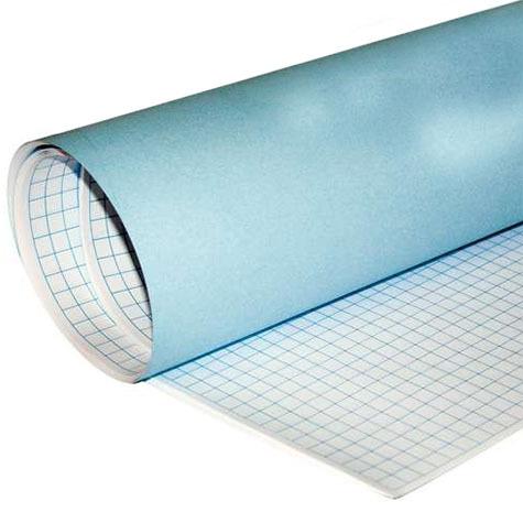 carta Leona80 BiancoFlash, carta quadrettata 10mm BIANCO, formato T1 (70 x 100cm), 80gr, 50 fogli.