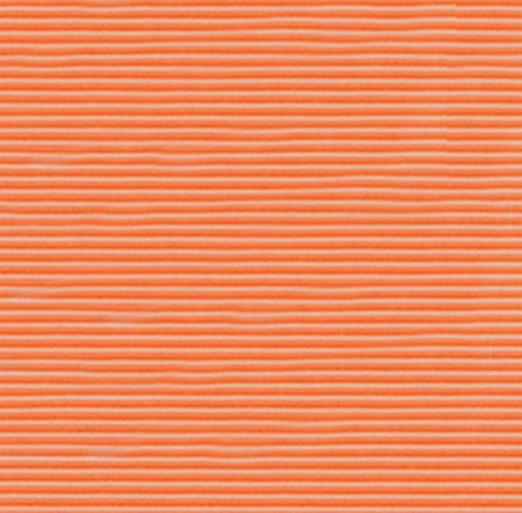 carta Cartoncino ondulato SIGILLO ARANCIO  formato T2 (50x70cm), 275gr.