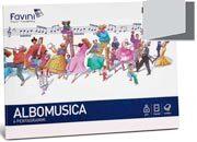 carta ALBOMUSICA 85 formato D5 (17x24cm), 85gr, 16 fogli FAVA138445-11