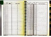 gbc Quaderno scadenze effetti passivi 1341 Scadenziari effetti passivi,  formato A5 (15 x 21) - 48 pagine (8 facciate per ogni mese) - rilegatura a spirale laterale - copertina in cartoncino marrone - 12 indici (mesi) plastificati ..