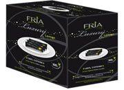 gbc Salvietta detergente e rinfrescante Fria Luxury in cotone, dimensione maxi 20x20cm, essenza di limone.