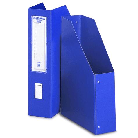 acco Classificatore Classomec ad elementi singoli verticali BLU. Formato esterno: 26x36cm, formato utile 25x35cm. Dorso: 8cm. Gli elementi Classomec costituiscono una soluzione semplice e razionale per l'archiviazione di cartelline, buste, documenti vari. 15-08.