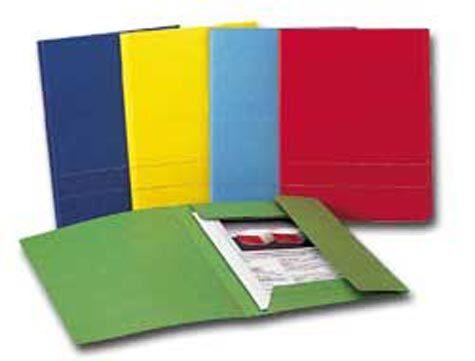 gbc KING CART Cartellina Colore: blu. Dimensioni formato utile: 24,3x34cm. Capacità: 2,7cm.