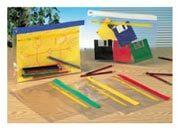 gbc Buste Trasparenti in PVC ACTIVE Zip Bag  Colore assortito: bianco, giallo, rosso, blu  verde. Dimensioni esterne: 18x26,8cm. Dimensioni formato utile: A5.
