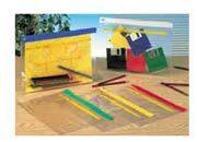 gbc Buste Trasparenti in PVC ACTIVE Zip Bag  Colore assortito: bianco, giallo, rosso, blu  verde. Dimensioni esterne: 23,8x34cm. Dimensioni formato utile: A4.