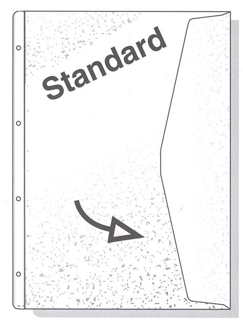 acco Busta con Patella tipo Top goffrata, Hetzel 223784 TRASPARENTE. Formato 22x30cm. Busta con chiusura a patella sul lato lungo della busta per evitare la fuoriuscita dei documenti. Busta goffrata. Tipo TOP. 4 fori. Banda perforazione bianca. 62-05.