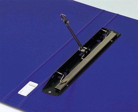 acco Raccoglitore King Grip, formato A3 BLU. Capacità: 2,5 cm. Raccoglitore con meccanismo a pressione ad alta resistenza. Struttura in cartone grigio mm. 2 rivestito dentro e fuori in carta plastificata. Linguella di estrazione a scomparsa. 35-08.