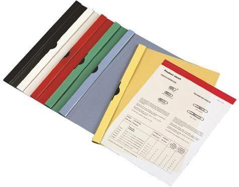 acco Cartellina Clip File con molla laterale metallica  Kwik Clip Xs, Flash Mec 00056855. Colori assortiti (bianco, grigio, nero, rosso e blu). Formato utile: A4 (21x29,7cm). Capacità: fino a 5 mm. pari a 30 fogli A4 da 80 gr. Copertina in Kristal liscio trasparente e fondo in polipropilene. Fermaglio a molla in plastica nero. 46-04, 141-09L.