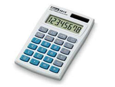 acco Calcolatrice tascabile 081x ibico Display 8 cifre. no conversione valuta. 3 tasti memorie. funzione %, profitto lordo-margine. dimensioni: 7x60x98mm. alimentazione solare-batterie. in bustina pvc..