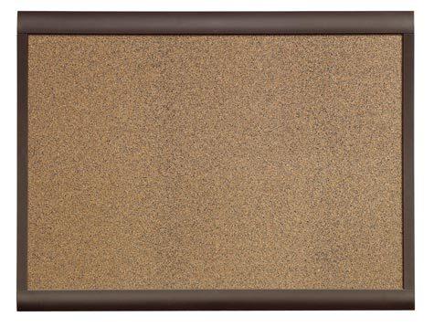 acco Pannello Personal in sughero 45x60cm, QBDC6045 Cornice dal design accattivante e moderno. Superficie in sughero pigmentato per il fissaggio delle puntine. Fissaggio a parete facilitato grazie alle pratiche asole sul retro. 83-09L.