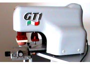 gbc Macchina Tampografica elettrica GT1 completa di banco croce per spostamenti X-Y-Z millemetrici. Calamaio ermetico da 60mm. Area stampabile fino a mm40x50. Stampa 800 pezzi/ora. .