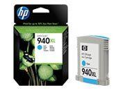consumabili C4907AE  HEWLETT PACKARD CARTUCCIA INK-JET CIAN0 940XL 16ML 1.400 PAGINE OFFICEJET 940/PRO 8000/PRO 8500.