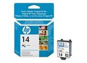 consumabili C5010DE  HEWLETT PACKARD CARTUCCIA INK-JET TRICOLORE 14 23ML CP/1160 OFFICEJET PRO/714XI/7130/7110 D/125XI/15XI.