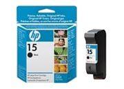 consumabili C6615NE  HEWLETT PACKARD CARTUCCIA INK-JET NERO 15 14ML DESKJET/810/840/841/920C/3816 PSC/500/700/750/750XI/760 OFFICEJET/6110/5110.