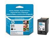consumabili C9351AE  HEWLETT PACKARD CARTUCCIA INK-JET NERO 21 5ML DESKJET/3920/3940/2460 DESKJET D/2360/1311/1320/1330/1341/1360/1368/1560/2400/2460/1430 DESKJET F/300/350/380/2180/4100/4180/3960/370/2280 PSC SERIES/1400.