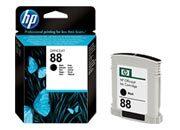 consumabili C9385AE  HEWLETT PACKARD CARTUCCIA INK-JET NERO 88 22,8ML OFFICEJET/7580/7780 OFFICEJET PRO SERIE/K550/K5400/K8600/L7000/L7680.