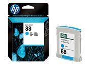 consumabili C9386AE  HEWLETT PACKARD CARTUCCIA INK-JET CIAN0 88 10ML OFFICEJET PRO SERIE/K550/K8600 OFFICEJET PRO SERIE L/7000/7680.