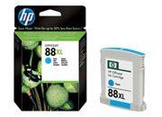 consumabili C9391AE  HEWLETT PACKARD CARTUCCIA INK-JET CIAN0 88XL 1,2K 1.200 PAGINE OFFICEJET PRO SERIE/K550/K8600/L7000/L7680.