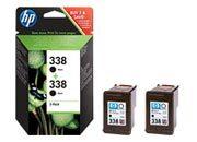 consumabili CB331EE  HEWLETT PACKARD CARTUCCIA INK-JET NERO 338 PACK 2 DESKJET SERIE/460 PHOTOSMARTI/C3180 DESKJET/9800 PHOTOSMART PRO/B8350 OFFICEJET/7310XI.