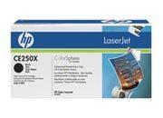 informatica HP CE250X Cartuccia di stampa HP Color LaserJet CE250X nero  per CP3525 (10,500 pag.).