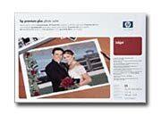 consumabili Q5489A  HEWLETT PACKARD CARTA INKJET FOTOGRAFICO PLUS PREMIUM SATINATO A3+ 280GR 25 FOGLI.