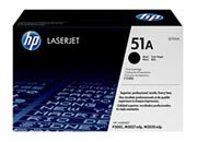 informatica HP Q7551A Toner nero per stampanti HP LaserJet Q7551A per LJ P3005/M3035mfp/M3027mfp, fino a 6.500 pagine.