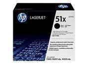 informatica HP Q7551X Toner nero per stampanti HP LaserJet Q7551X per LJ P3005/M3035mfp/M3027mfp, fino a 13.000 pagine.