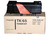 consumabili 370QD0KX  KYOCERA-MITA TONER LASER NERO TK65 20.000 PAGINE FS/3820N/3830N.
