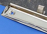 legatoria Raccoglitore a 2 anelli, 50mm BIANCO, contiene fino a 500 fogli (50mm), spessore esterno del dorso 70 mm, con tasca a tutto formato sul frontale e sul dorso per consentre una perfetta personalizzazione, in PVC morbido.