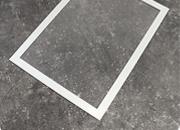 legatoria Cornice magnetica A4 per fogli formato A4 (210x297mm). Fissaggio magnetico. Pannello frontale trasparente antiriflesso*.