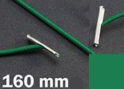 legatoria Elastico con 2 capicorda, lunghezza 160mm leg1201.