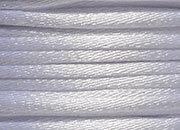 legatoria Cordoncino coda di topo, spessore 2,5mm Bianco ottico, tinta unita. Prodotto italiano, MADE IN ITALY.
