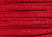 legatoria Cordoncino coda di topo, spessore 2,5mm Rosso, tinta unita. Prodotto italiano, MADE IN ITALY.