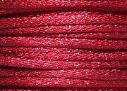 legatoria Cordoncino coda di topo, spessore 2,5mm Bordeaux, tinta unita. Prodotto italiano, MADE IN ITALY.