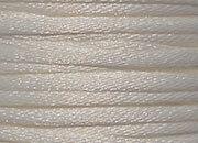 legatoria Cordoncino coda di topo, spessore 2,5mm Bianco naturale, tinta unita. Prodotto italiano, MADE IN ITALY.