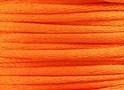 legatoria Cordoncino coda di topo, spessore 2,5mm Arancio, tinta unita. Prodotto italiano, MADE IN ITALY.