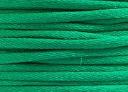 legatoria Cordoncino coda di topo, spessore 2,5mm Verde bandiera, tinta unita. Prodotto italiano, MADE IN ITALY.