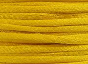 legatoria Cordoncino coda di topo, spessore 2,5mm Giallo sole, tinta unita. Prodotto italiano, MADE IN ITALY.