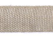 legatoria Nastro in juta, spessore 30mm Greggio (naturale), tinta unita, Nastro ideale per fioristi e il confezionamento di bomboniere. Prodotto italiano, MADE IN ITALY.