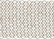 legatoria Nastro in juta, spessore 100mm Greggio (naturale), tinta unita, Nastro ideale per fioristi e il confezionamento di bomboniere. Prodotto italiano, MADE IN ITALY.