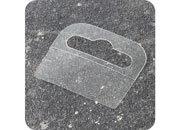 legatoria Appendini trasparenti autoadesivi per blister 44x36mm foratura standard europea. In PET trasparente flessibile, per oggetti fino a 250 grammi. In rotolo.