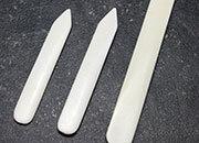 legatoria Osso, pieghetta 160 cm Per piegare e lisciare Lunghezza 160mm. Attrezzo indispensabile al legatore per ogni operazione di piegatura e per formare il canaletto.