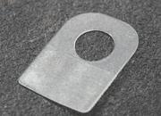 legatoria Appendini autoadesivi 25x35mm, foro tondo Trasparente, foratura tonda diametro 11,5mm, in PET da 350micron, per oggetti fino a 250 grammi. In rotolo da 500 pezzi..