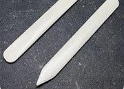 legatoria Osso, pieghetta, 200 cm Per piegare e lisciare Lunghezza 200mm. Attrezzo indispensabile al legatore per ogni operazione di piegatura e per formare il canaletto.