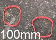 legatoria Elastici a fascetta diametro 100mm LEG3580.