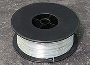 legatoria Filo metallico per cucitrice, 0,75mm ZINCATO. In rotolo da   2kg, tipo 22, spessore filo: 0,75mm.