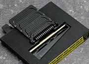 legatoria Componente di ricambio distributore elettrico Ricambio del distributore elettronico per nastri adesivi A1200, parte tagliente con bordi dorati..