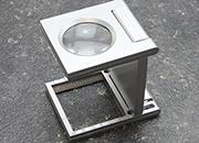 legatoria Lente ingrandimento 27mm, 5 ingrandimenti In plastica, priva di distorsioni, ingrandisce 5 volte l oggetto, lente in acrilico asferico con diametro di 27 mm, con scala di misurazione.
