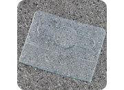 legatoria Appendini trasparenti autoadesivi per blister 40x32mm foratura standard europea. In PET trasparente da 400 micron, per oggetti fino a 500 grammi. In rotolo.