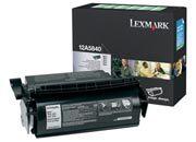 consumabili 12A5840  LEXMARK CARTUCCIA DI STAMPA NERO 10.000 PAGINE OPTRA T/610/612/614/616.